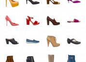 Vendedora de zapatos de damas