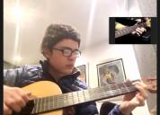 clases on line de guitarra