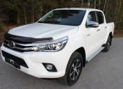 Toyota hilux 2017 / 4x4 / 58 000 km automÁtico