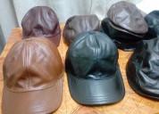 Gorras de cuero, boinas