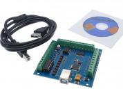 Tarjeta controladora azul mach3 usb 4 ejes 100khz