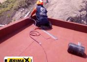 Membrana asfaltica - rollo de 10x1 - b.p