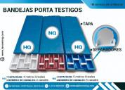 Cajas porta muestras bq nq hq pq polipropileno
