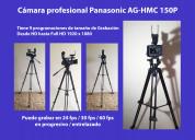 Vendo cámara de video profesional panasonic ag-hmc