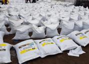 Mezcla asfaltica en frio - saco de 25 kg bp.
