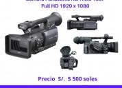 Venta de cámara  panasonic ag-hmc 150p 100% ok