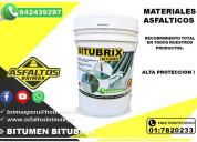 Imprimante liquido - bitumen - especial para manto