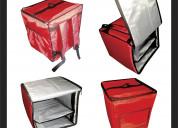 Fabricación de mochilas delivery
