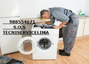 Reparación de lavadoras a domicilio san miguel lim
