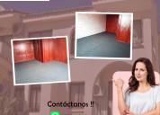 Se alquila amplia habitaciÓn ideal para parejas s/