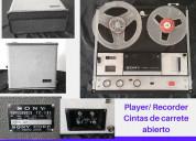 Vendo player/recorder cintas de carrete abierto