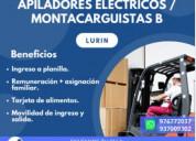 Apilador eléctrico clase dos-lurin