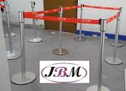 Postes separadores de filas / jbm