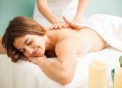 Masajes relajantes y/o reductores para damas a dom