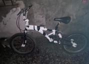 Bicicleta bmx con resorte aeróbico