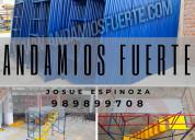 ANDAMIOS FUERTE