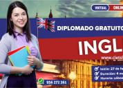 Diplomado gratuito de especializaciÓn en el idioma