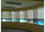 Venta de cortinas rollers screen y blackout