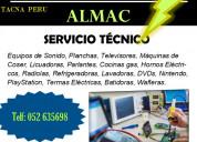 Servicio tecnico almac tacna