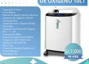 Concentrador de oxigeno de 10 litros