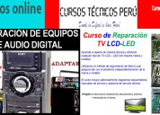 Curso de reparacion de tv lcd y equipos de audio