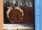 Libro de colores munsell para suelos plantas rocas