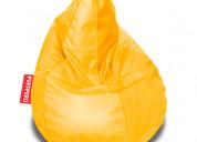 Puff pera l - amarillo