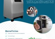 Equipo concentrador de oxígeno medicinal olive 10l