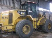Vendo cargador frontal cat 966h - 2088