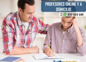 Profesor de matemÁtica online y a domicilio