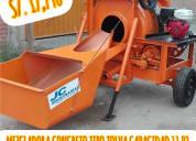 Mezcladoras trompos y tolvas* cortadoras concreto*