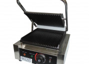 Sandwichera panini grill / individual electrica