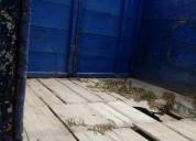 Carroceria camion madera usado