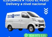 Delivery de nitrógeno líquido