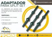 Adaptadores estandar de split set