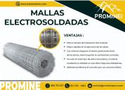 Mallas electrosoldadas - producto de sostenimiento