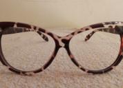 Montura de lentes leopard print