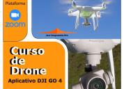 Curso de drone. configuración aplicativo dji go4.