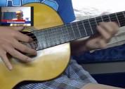 clases de guitarra on line y presencial
