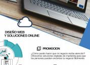 DiseÑo web y soluciones en linea