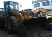 Vendo cargador frontal cat 962h - 2009