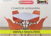 Mesas y sillas estilo vintage para restaurantes