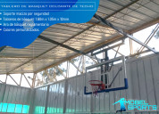 Tablero de basquet colgante de techo