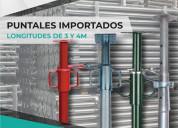 Puntales galvanizados pesados importados