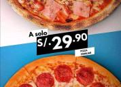 Vendo pizza argentina