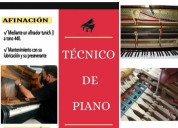 Técnico de pianos