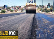 Nivelaciones asfalticas pistas ,fisuras asfalto