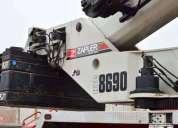 Camion grua telescopica segundo uso