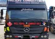 Camion cisterna combustible mercedes benz