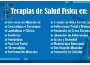 Servicio de masoterapia, fisioterapia